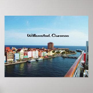 Oranjestadアルバ ポスター