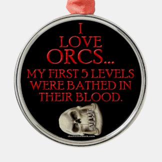 Orcの血で浸される メタルオーナメント