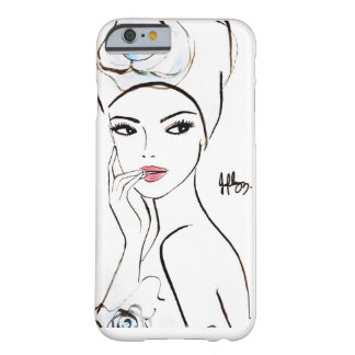 Orchid女性 Barely There iPhone 6 ケース