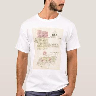 Ordおよびバッファロー、ネブラスカ Tシャツ