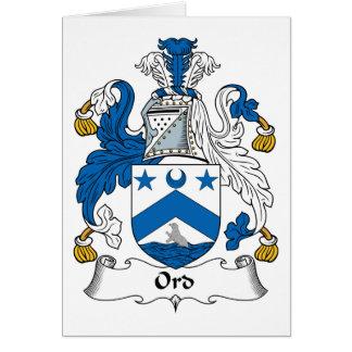 Ordの家紋 カード