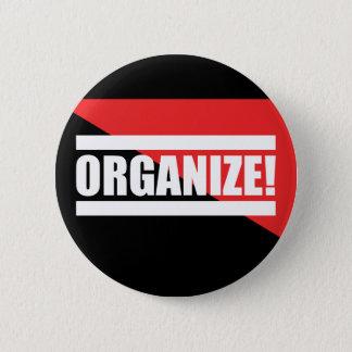 Organize Button 缶バッジ