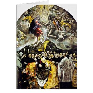 Orgazカードの計算のEl Grecoの埋葬 カード