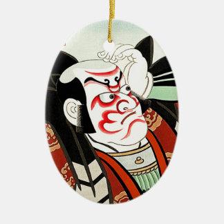 Oriettalの日本人のCangrejoの涼しい芸術 セラミックオーナメント