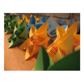 Origamiによってはkusudamaのスタイルが開花します ポストカード
