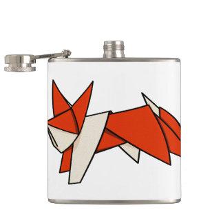 Origamiのキツネ フラスク
