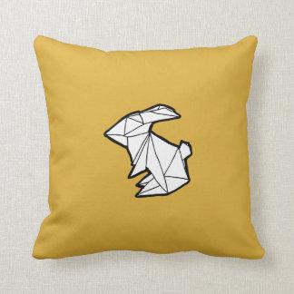 Origamiのバニーウサギの枕 クッション