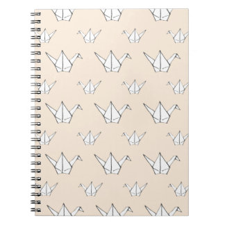 Origamiオレンジクレーン ノートブック
