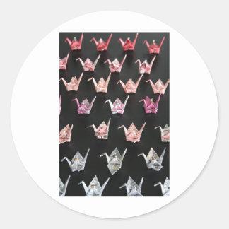 Origamiクレーンオーナメント ラウンドシール