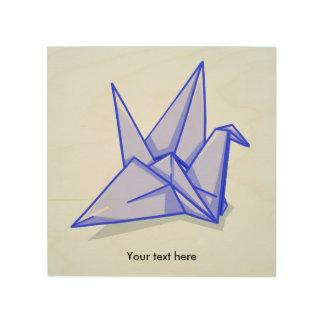 Origamiクレーン ウッドウォールアート