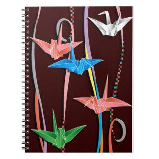 Origamiクレーン ノートブック