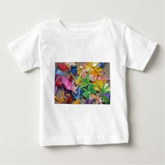 origamiクレーン ベビーTシャツ
