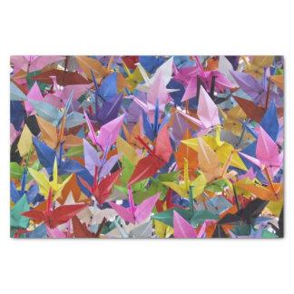 Origami 1,000のペーパークレーン写真 薄葉紙
