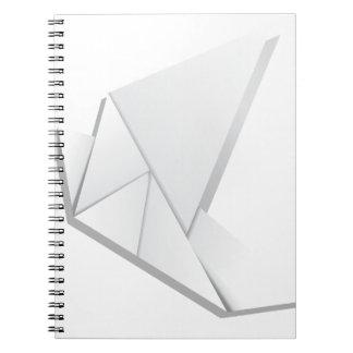 Origami pigeon2 ノートブック