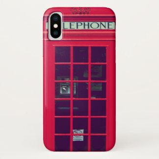 Original british phone box iPhone x ケース