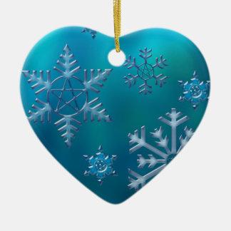 ornament_heart 陶器製ハート型オーナメント