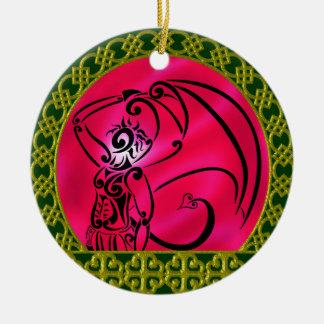 Ornament Round暗い王子 セラミックオーナメント