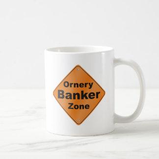 Ornery銀行家 コーヒーマグカップ