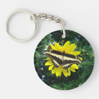 Ornythionのアゲハチョウのキーホルダー キーホルダー