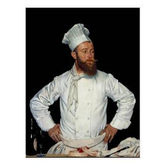 Orpen著Le Chef ポストカード
