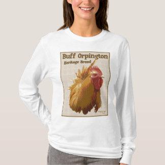 Orpingtonの淡黄色のオンドリ Tシャツ
