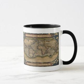Orteliusの世界地図1570のマグ マグカップ