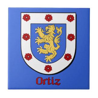 Ortiz家族の盾 タイル