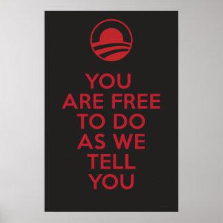 Orwellianオバマ2 ポスター