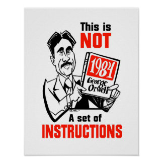 Orwellianポスター ポスター