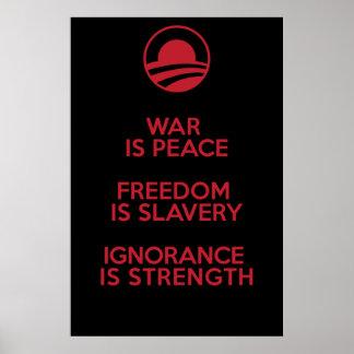 Orwellian/Obamian定義 ポスター