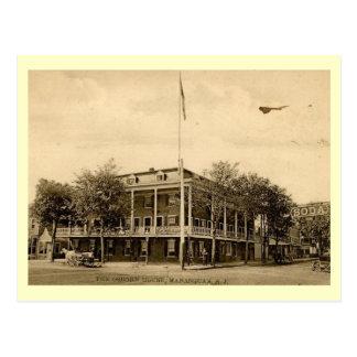 Osbornの家、Manasquanのニュージャージーのヴィンテージ ポストカード
