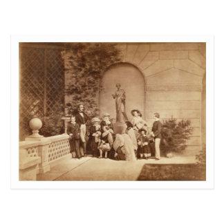 Osborneの家、185の王室のポートレート ポストカード