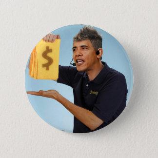 Oshamaボタン 5.7cm 丸型バッジ