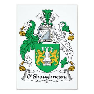 O'Shaughnessyの家紋 カード