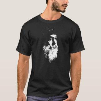 oshoのワイシャツのTシャツの精神的な黙想の認識度 Tシャツ
