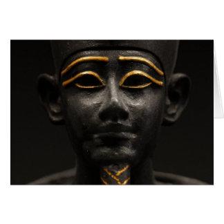 Osirisのエジプトの彫像 カード
