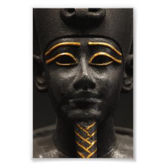 Osirisのエジプトの彫像 フォトプリント