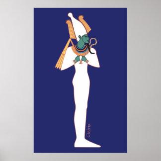 Osirisのオリオンの星の神 ポスター