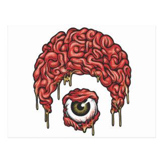 Osirisの頭脳アイコン ポストカード