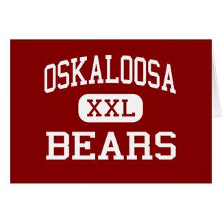 Oskaloosa -くま-高等学校- Oskaloosaカンザス カード