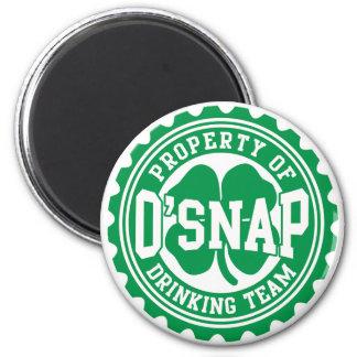 O'snapのアイルランドの飲むチームの特性 マグネット