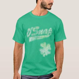 O'Snapのアイルランド人のセントパトリックの日 Tシャツ