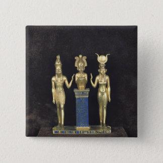 Osorkon IIのOsorkon IIの統治のトライアド 5.1cm 正方形バッジ