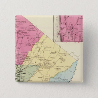 Ossining、スパルタ 5.1cm 正方形バッジ