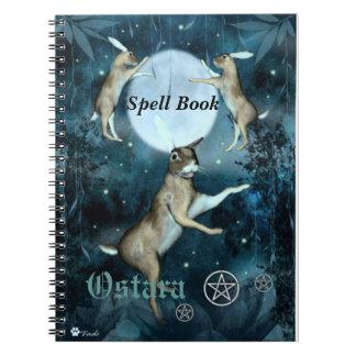 Ostaraの綴りの「ノート」の本 ノートブック