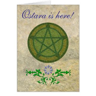 Ostaraはここにあります! カード