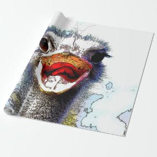 Ostrich20150701 ラッピングペーパー