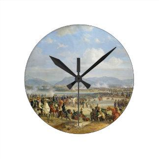 OstrovのEugene de Beauharnais (1781-1824年)王子 ラウンド壁時計