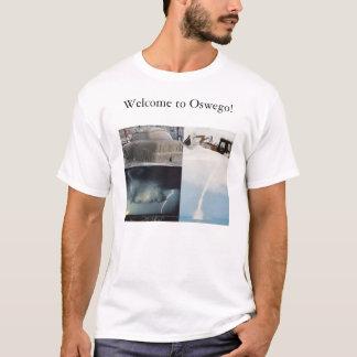 Oswegoの天候 Tシャツ