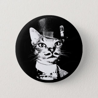 Oswin Cat Button 5.7cm 丸型バッジ
